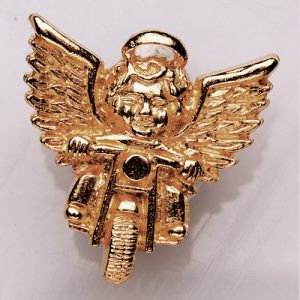 Guardian Angel Pin – Gold