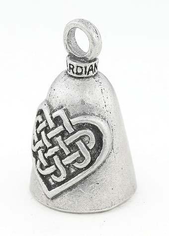 Heart Guardian Bell Pendant Lucky Charm