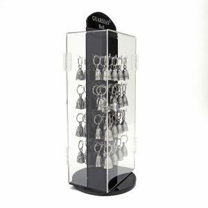 Spinning Lockable Acrylic Guardian® Bell Display